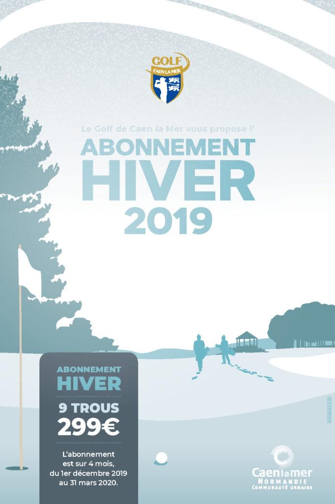 ABONNEMENT HIVER GOLF