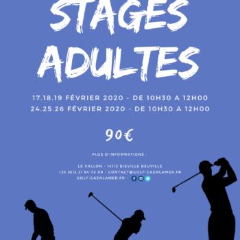 Stage golf